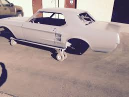 1967 mustang shell for sale 1967 ford mustang coupe sand blasted epoxy coated for sale