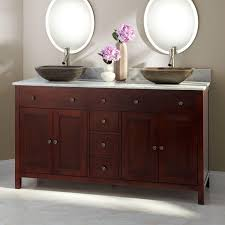 Double Bathroom Vanity With Vessel Sinks Ideas  Unique Trend - Bathroom vanities double vessel sink
