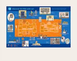 met museum floor plan places spaces mapping science