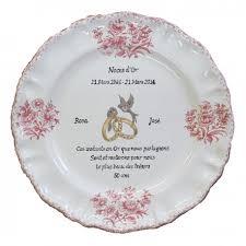 poeme sur le mariage assiettes souvenir de mariage en faïence blanche avec inscriptions