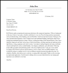 download sample journeyman electrician cover letter