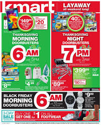 kmart s black friday ad reveals morning and doorbusters