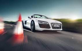 Audi R8 Spyder - wallpaper audi r8 spyder white car hd picture image u2022 onedslr