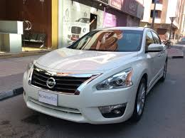 nissan altima sunroof 2014 nissan altima for sale aed 29 000 white 12988