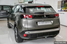 first peugeot first look 2017 peugeot 3008 suv walk around image 699059