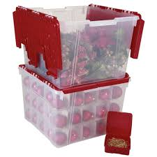 decoration alluring rubbermaid storage ornament box easy
