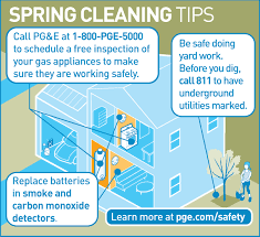 spring cleaning tips infographic spring cleaning tips pg e currents