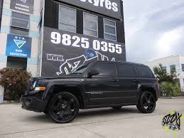 jeeps matte black jeep patriot with kmc rockstar 775 matte black wheels kmc wheels
