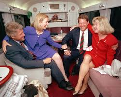 by linking trump with hate groups clinton spotlights the see hillary and bill clinton s political romance in photos time com