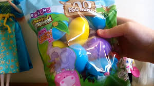 brach s bunny basket marshmallow easter eggs candy eggs kids easter zoo animal egg hunt opening