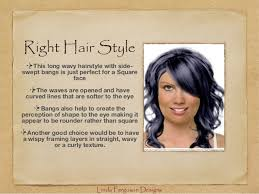 hairstyle square face wavy hair hair styles that flatter your face shape