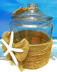 tropical starfish canister beach decor starfish nautical kitchen