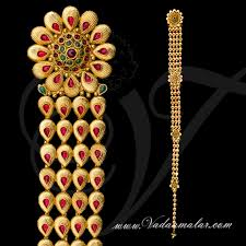 28 best indian hair decoration jewellery images on