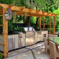 Simple Outdoor Kitchen Designs 21 Best Outdoor Kitchen On Wooden Deck Images On Pinterest