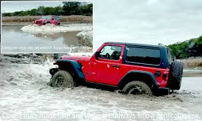 jeep snow meme jeep in water over super bowl advert daily mail online