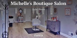 Shabby Chic Salon Furniture by Featured Salon Michelle U0027s Boutique Salon