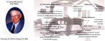 Burial Invitation Card Sue Family History Fun Page 4