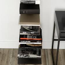 Container Store Leaning Desk Book Shelf Anthracite Sapien Bookshelf The Container Store