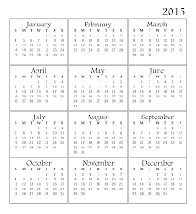printable calendar year on one page 2015 year printable calendar roberto mattni co