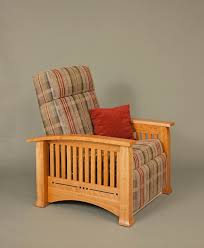 Dutch Modern Furniture by Modern Mission Recliner Dutch Haus Custom Furniture Sarasota Florida