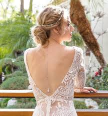 back jewelry necklace images Wedding accessories bridal back jewelry amy o bridal jpg