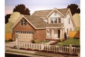 house plans for narrow lots with front garage eplans craftsman house plan narrow lot with garage 1549