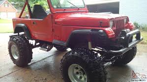 jeep rock crawler buggy jeep wrangeler yj rock crawler mud buggy