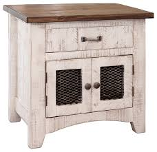 anton nightstand bedside table farmhouse nightstands and