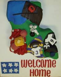 louisiana themed welcome home cake cakecentral com