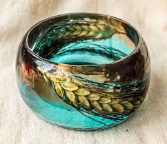 bangle bracelet with crystal images Best 25 resin bracelet ideas resin flowers diy jpg