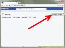Photo Album Fo How To Add A New Album On Facebook 9 Steps With Pictures
