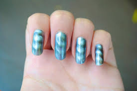 sally hansen magnetic nail color in silver elements the belle