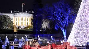 president lights last national christmas tree youtube