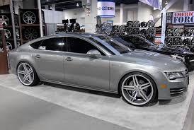 20 audi rims verde parallax wheels matte silver with machined rims