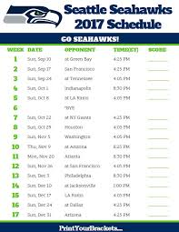 99 best printable nfl schedules images on football