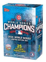 amazon com chicago cubs 2016 topps baseball world series