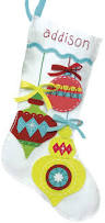 amazon com dimensions crafts felt applique stocking catching