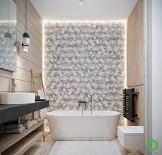 relaxing color schemes home designs geometric bathtub accent wall relaxing color schemes