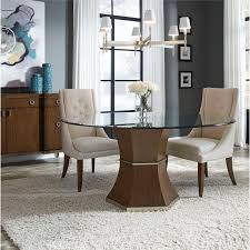 Thomasville Retrospect Three Piece Table And Upholstered Chair