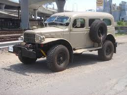icon 4x4 d200 resto mod workhorse 1942 dodge wc53 carryall turbodiesel off