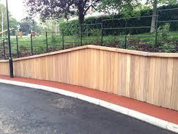 landscape timber retaining wall system u2014 home design ideas