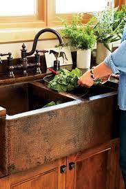 Best  Copper Kitchen Sinks Ideas On Pinterest Copper Sinks - Copper farmhouse kitchen sink