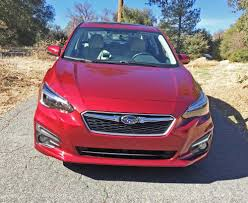 2017 subaru impreza hatchback red the 2017 subaru impreza will come in two body configurations a