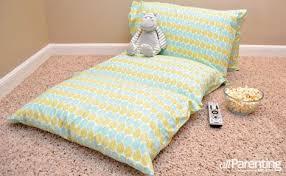 pillow bed for kids diy pillowcase lounger