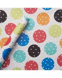 foil gift wrap big deal on foil gift wrap birthday dots spritz multi colored