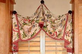 Pull Up Curtains Pull Up Curtain Valance Sewing Pattern Pate