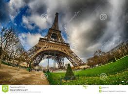 Beautiful Eiffel Tower by Paris Beautiful Wide Angle View Of Eiffel Tower In Winter Seaso