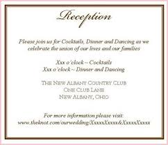 wedding reception wording wedding invitations reception wording inspirational wedding