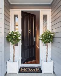 welcome home to this classic hamptons style front entrance design