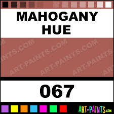 mahogany colours acrylic paints 067 mahogany paint mahogany